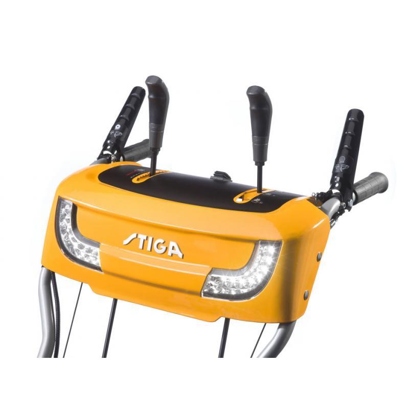 Zamiatarka STIGA SWS 800 GE + reflektory + elektr. Start // Nowość 2020!!! // Autoryzowany Dealer