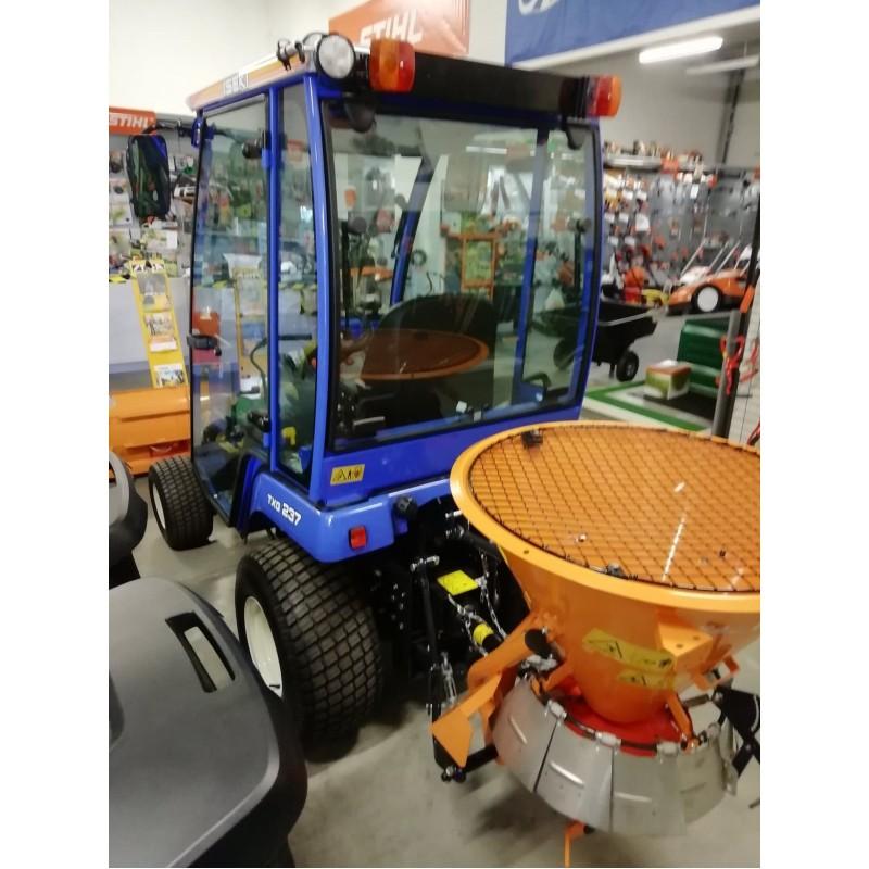 ISEKI TXG 237 Traktor Komunalny z kabiną, pługiem i posypywarką - zestaw zimowy // Promocja!!! // Autoryzowany Dealer