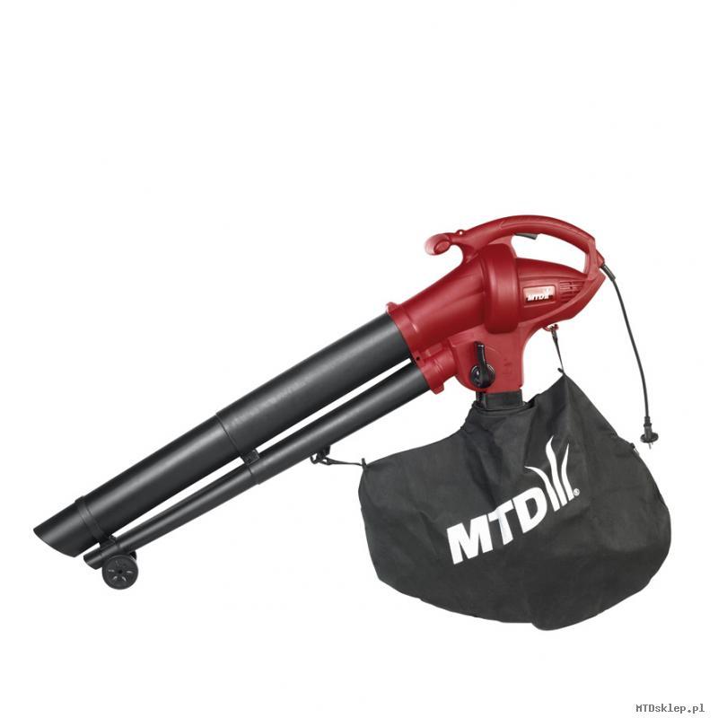 Elektryczna dmuchawa / odkurzacz MTD BV 2500 E // Promocja